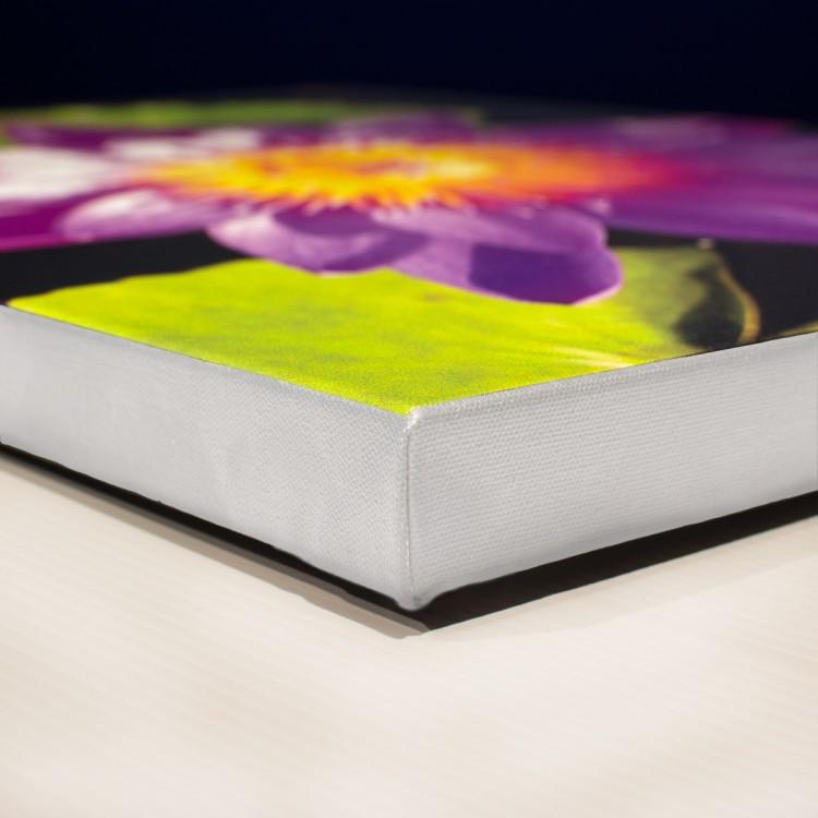 white edge canvas print