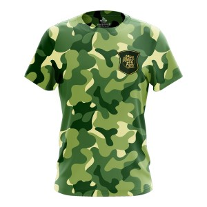 Camouflage Polyester Jersey Tshirt