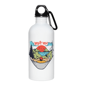 Allumunium Water Bottle for Hiking Camping Cycling Jongolei Mongol