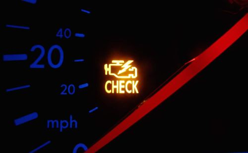small resolution of check engine light one