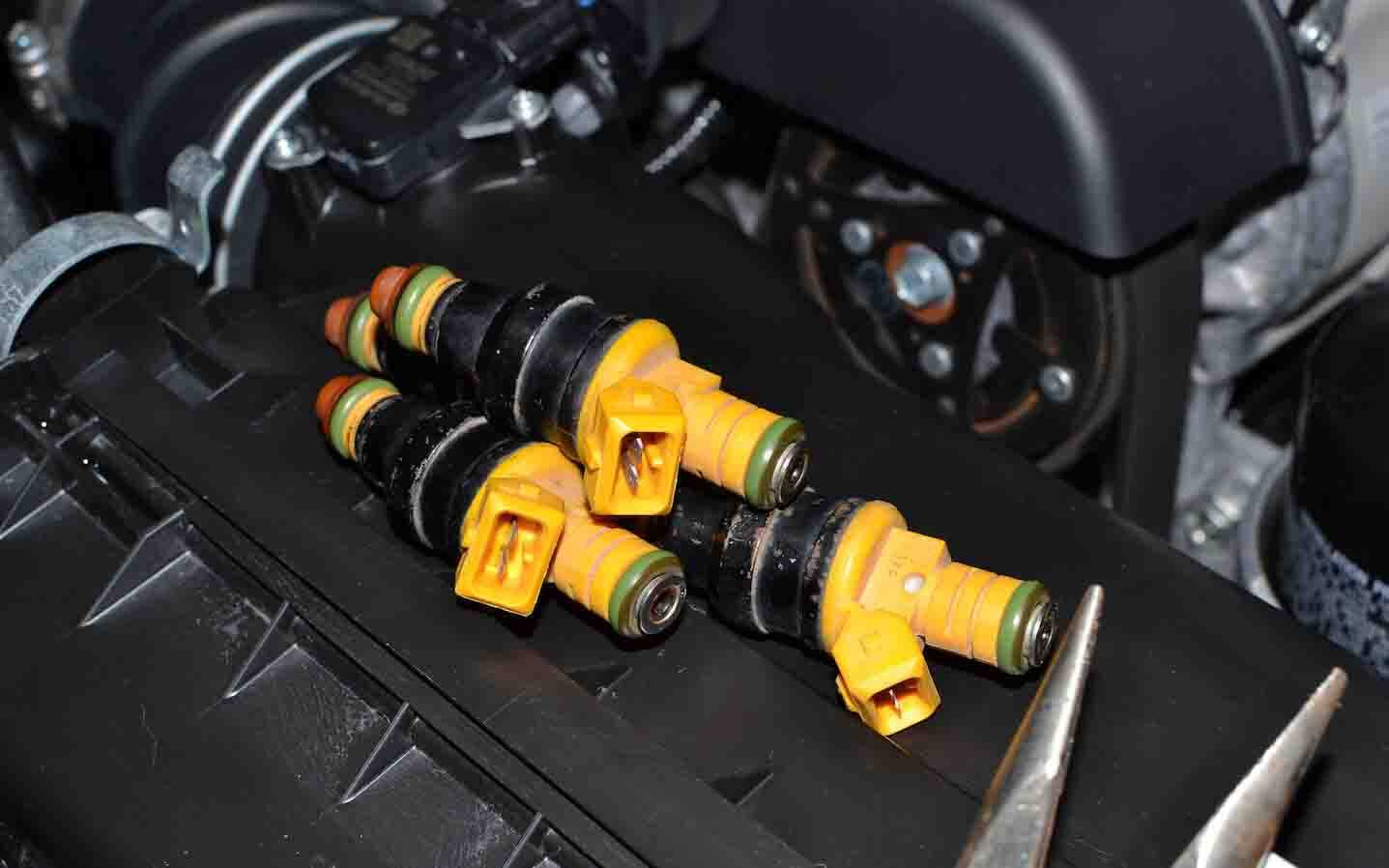 hight resolution of fuel injectors