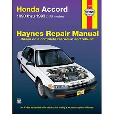 1993 honda accord parts diagram 2005 pt cruiser radio wiring stereo and haynes 90 93 repair manual 42012 advance auto