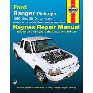 Haynes Ford Ranger Pickup '93'08 Repair Manual 36071: Advance Auto Parts