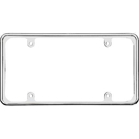 Cruiser Accessories Perimeter, Chrome License Plate Frame