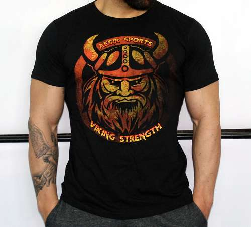 "T-Shirt - Wikinger ""Viking Strength"""
