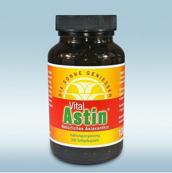 Natürliches Astaxanthin - 150 Kapseln - Vital Astin