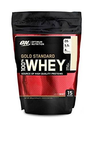 Gold Standard Whey 100% Whey - 450g - Optimum Nutrition