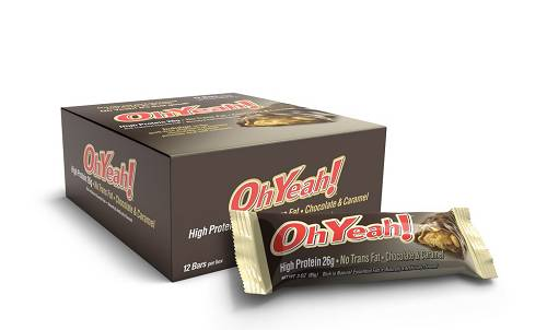 ISS Oh Yeah! Proteinriegel - 12 x 85g - Oh Yeah! Nutrition