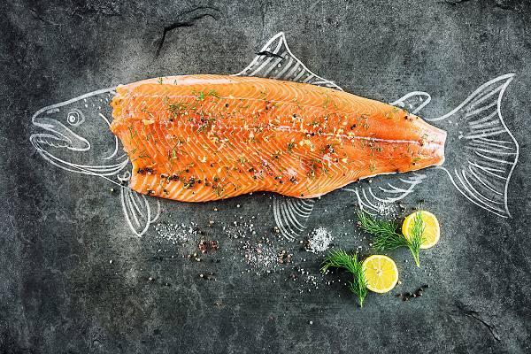 Grund #2: Lachs ist reich an B-Vitaminen