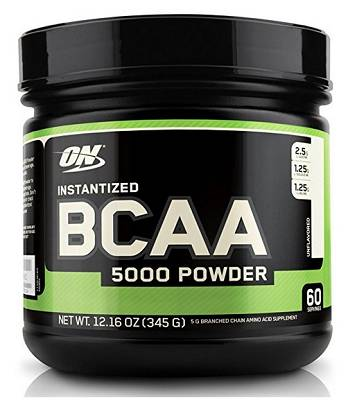 Instantized BCAA 5000 - 345g - Optimum Nutrition