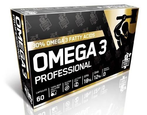 Omega 3 Professional - Fischöl Kapseln - 60 Kapseln - Ironmaxx