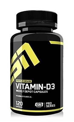 Vitamin D3 - Cholecalciferol - 120 Kapseln - ESN