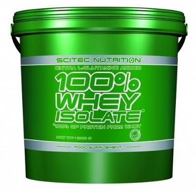 100% Whey Isolate - 4000g (4kg) - Scitec Nutrition