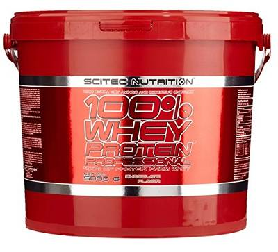 100% Whey Professional - 5000g (5,00kg) - Scitec Nutrition