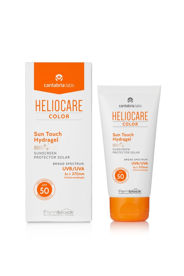 Heliocare Sun Touch SPF50 αντηλιακό gel