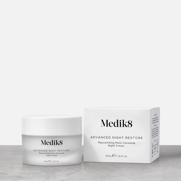 Medik8 Advanced Night Restore ανάπλαση τόνωση σύσφιξη καλλυντικά