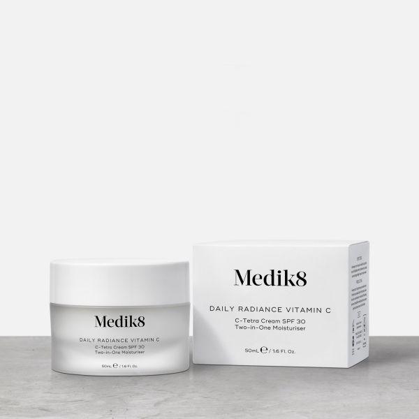 Medik8 Daily Radiance Vitamin C αντιγήρανση ενυδάτωση δυσχρωμίες καλλυντικά