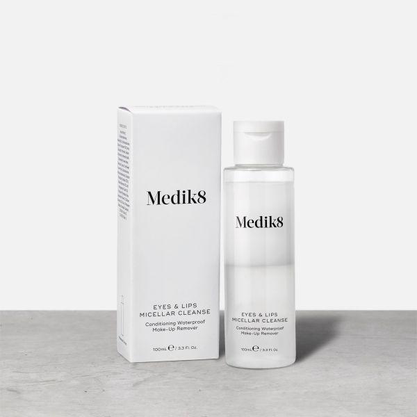 Medik8 Eyes & Lips Micellar Cleanse καθαριστικό μάτια χείλη ντεμακιγιάζ
