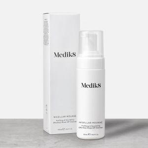 Medik8 Micellar Mousse αφρός καθαρισμού καθαριστικό καλλυντικά