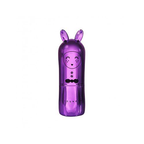 Inuwet Bunny Lip Balm Metal Purple χείλη