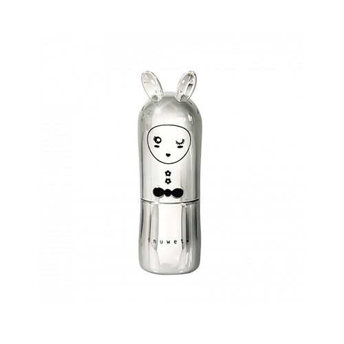 Inuwet Bunny Lip Balm Metal Silver χείλη