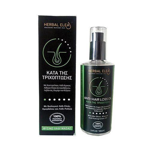 Herbal Elea λάδι μασάζ κατά της τριχόπτωσης μαλλιά βιολογικό προϊόν