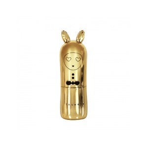Inuwet Bunny Lip Balm Metal Gold μακιγιάζ χείλη