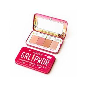 The Balm Girl Powder Palete Cheek μακιγιάζ ρουζ highlighter πρόσωπο μάτια σκιά