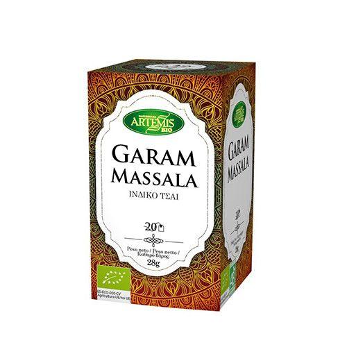 Artemis Bio Ινδικό Μείγμα Βοτάνων Garam Massala τσάι