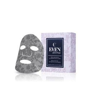 Evenderma Black Lace Lift Regenerating Mask μάσκα πρόσωπο αντιγήρανση ρυτίδες σύσφιξη ξηρό δέρμα αφυδατομένο δαντέλα ενυδάτωση