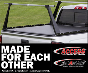 Access Original Roll Up Cover Amp Adarac Truck Bed Rack Combo