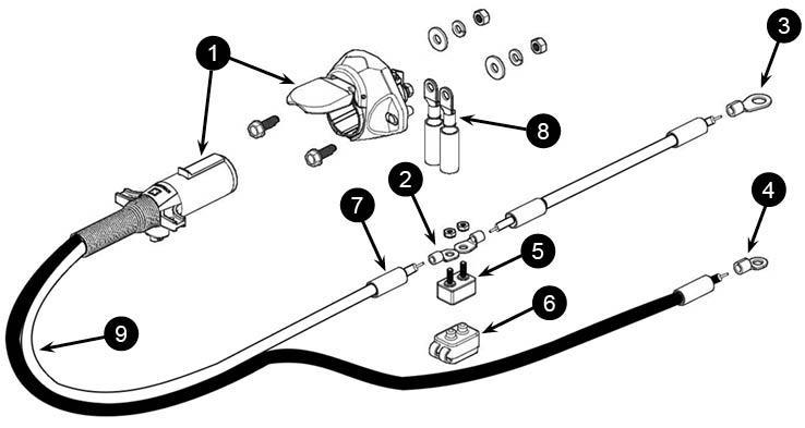 Semi Trailer Kit (4 Ga.) for farm trucks, seed tenders and