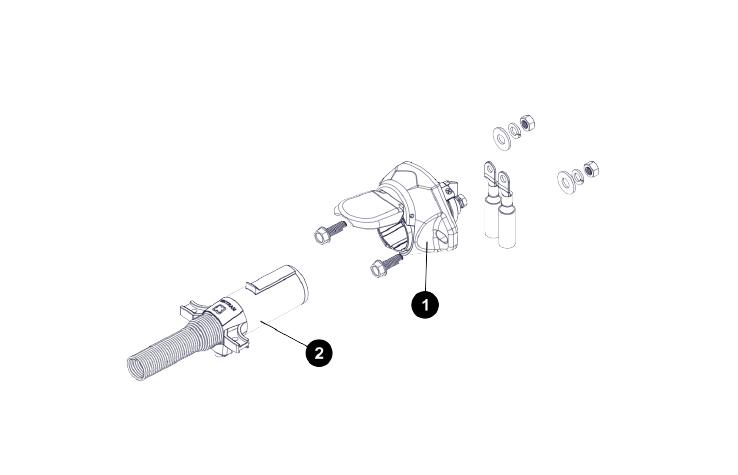 Semi Tractor/Trailer Connector for Fertilizer Roll Tarps