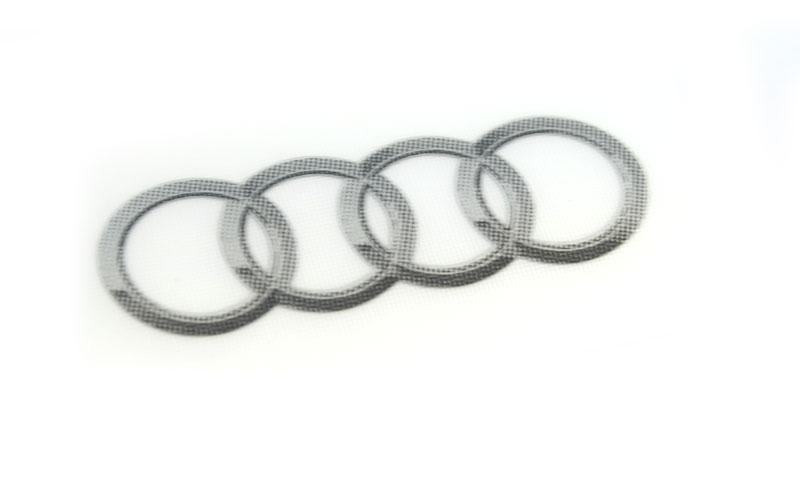 Aufkleber Sticker Audi Original Tuning Zubehör Audiringe
