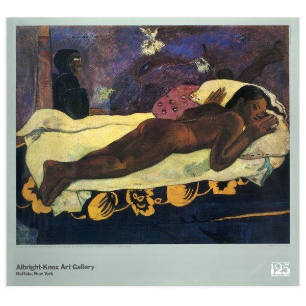 "Albright-knox Poster Of Gauguin ""spirit"