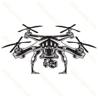 Drone Quadcopter Camera Vector