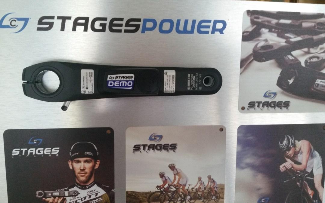 """Nu är vi även """"Demo"""" återförsäljare av Stages Power Meters."""