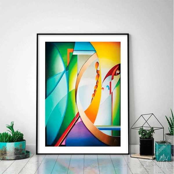 abstract limited edition prints for sale