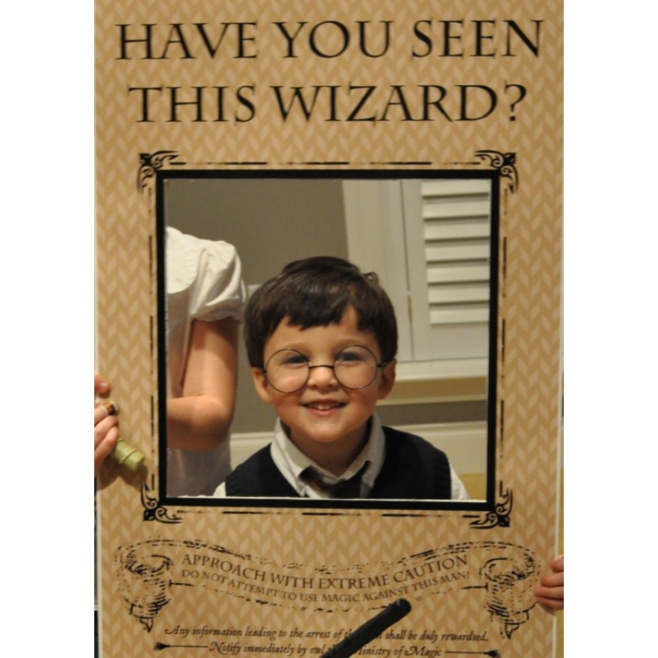 Magic Wizard Have You Seen This Wizard Printable