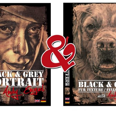 DVD-Black-and-Gray-AND-Black-and-Gray-Texture-by-Andy-Engel-Front