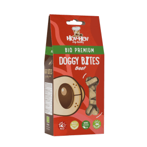 Boite biscuits chien rouge boeuf
