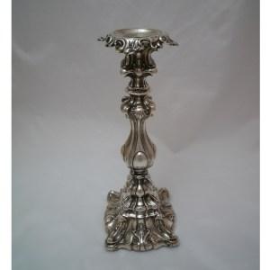 Barockleuchter Silber