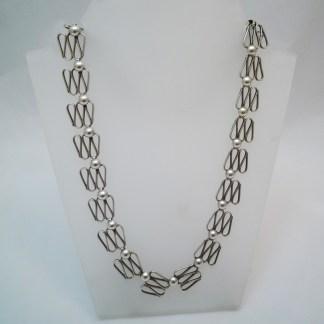 Designkette aus Silber Skandinavien