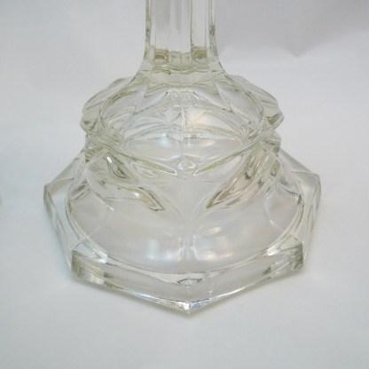 Leuchterpaar Pressglas