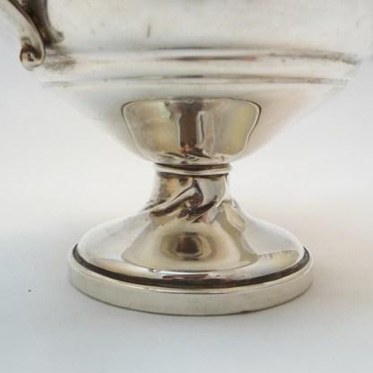 Set Zuckerschale und Sahnekännchen Silber
