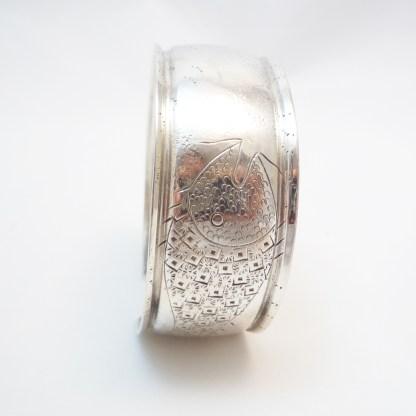 Spangenarmband Silber