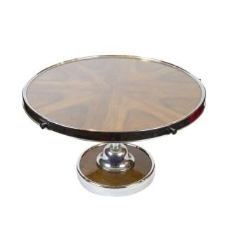 Drehtablett als Tischaufsatz, Art Deco