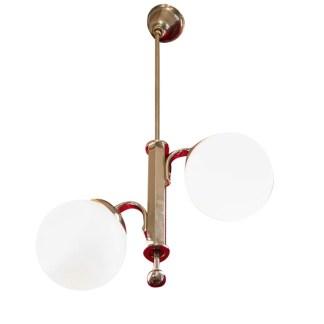 Klassische Kugellampe, Art Deco, um 1920-30