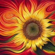 paint-by-number-acrylic-sunflower