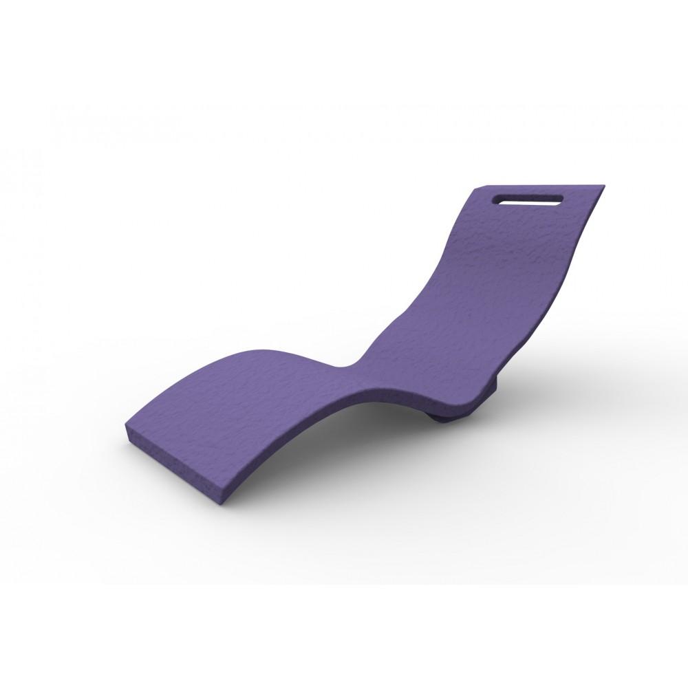 liegestuhl aus harz